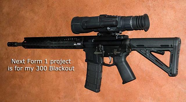 Evil Black Gun in 300AAC Blackout