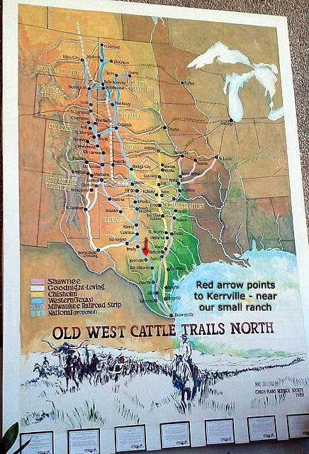 Old West Cattle Trails