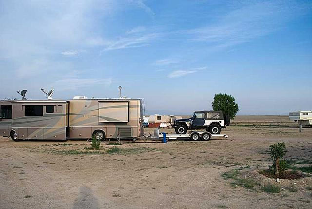 Haggards RV Campground, West Pueblo, CO