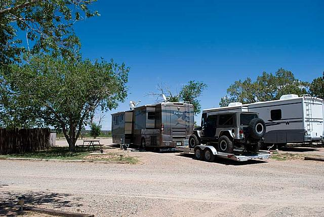 Santa Rosa Campground, Santa Rosa, New Mexico - Site 14