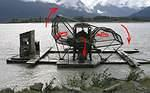 Fish wheel on the Chilkat River