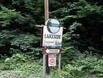 Lakeside Campground entrance