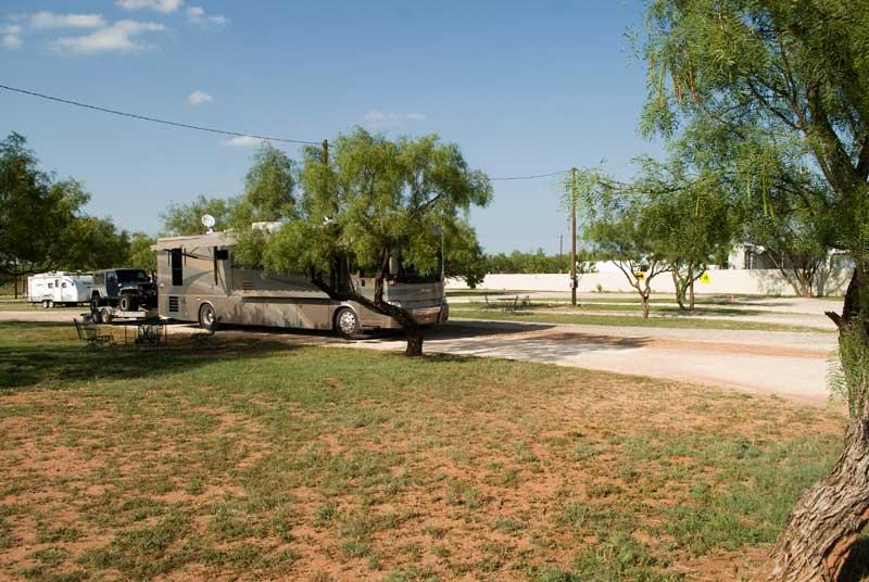 Tye RV Park - Site #A (Abilene, TX area)
