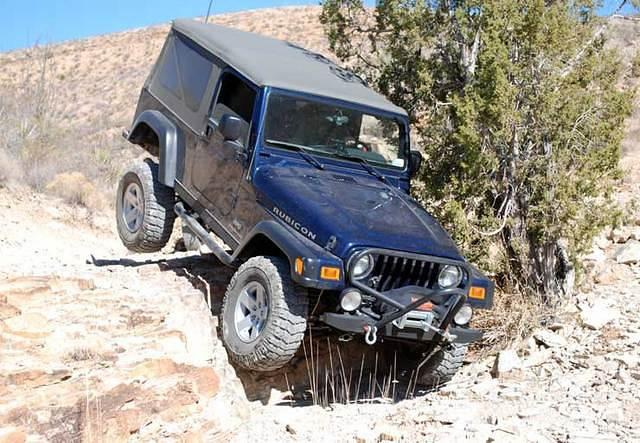 My first technical 'challenge' with the Rubicon