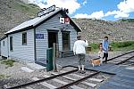 Restored telegraph office at Alpine Tunnel