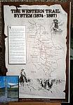Western cattle trail system